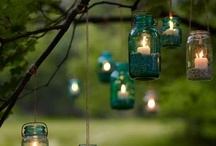 DIY Mason  & Assorted Jars LOVE / Mason jars, recycled  jars and bottles / by Kathy Jones ~ Dust Bunny Trail