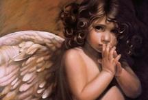 Angel LOVE / by Kathy Jones ~ Dust Bunny Trail