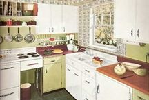 vintage kitchen / for the happy housewife / by Sara Smedley