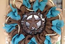 DIY Wreaths ~ Door Hangers / by Kathy Jones ~ Dust Bunny Trail