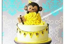 Cakes,Cookies, and gumpaste figures / by Ashlie Pieren Goetze