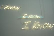 KNOW / by Soraya Sadaoui