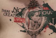 Art: I'll Be Wearing Your Tattoo / by Larisa Kloske
