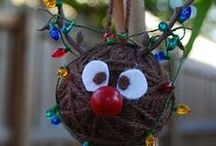Christmas Ornament Exchange / Ideas, tutorials for christmas ornaments.  / by The TipToe Fairy