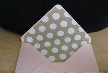 envelope punch board / by Lisa Valkavich