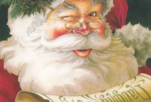 Hurry Down the Chimney Tonight / For Santa and his predecessors / by Liz Lawrence