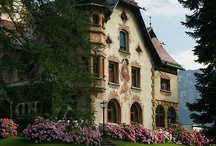 In a Manor of Speaking / Chateaus and Castles and Manor Houses, Oh My! / by Liz Lawrence