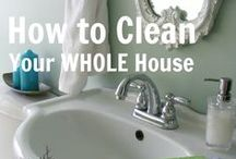 Cleaning / by Crystal @ Redheads Review It Better