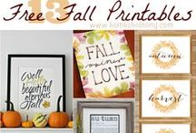 FREEbies  / Yep, a board just for FREE Printables and Tutorials! :) / by Diana
