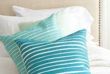 pillows / pillows, sewn, knitted polštáře , šité , pletené / by Dana Vrazelova