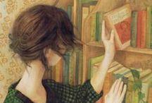 Bibliophile / by Blue Eyed Night Owl