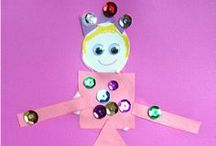 Kid Crafts / Crafts to do with your kiddos. / by Sarah McKenna of Bombshell Bling