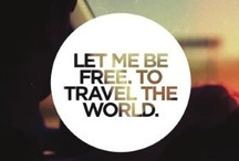 Travel: Tips & Inspiration / Traveling can be frustrating, I'll try to make it easier on myself... / by Punk-Rock Martha