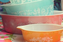 Obsession: Pyrex & the like... / Vintage Pyrex obsession, maybe. / by Punk-Rock Martha
