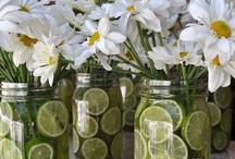 Repurposed Mason Jars  / by Cottage Chic