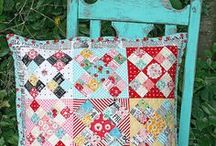 Patchwork Pillows / by Red Pepper Quilts