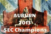 AUBURN is AU...some!!! / I love Auburn!!!! Went to home games for years and years!!! Since we now have a beach house, and have gotten older, we enjoy watching them at the beach. If you listen, I am sure you can hear me yelling WAR EAGLE during each and every game. Here's another one for good luck....WARRRRR EAGLE, HEY! / by Sandy Plant