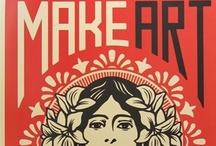 Art Inspiration / inspiration / by Jen Pocock