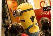 Minions @Plaisio / The beloved Minions visited Plaisio Stores / by PLAISIO
