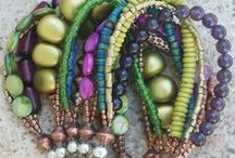 Style - Beaded Jewelry  / Good ideas for making my own jewelry. I love the color combinations and variety of beaded jewelry. / by Susan S.