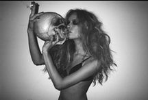 _skeleton & skulls / you are pretty cute as dead too  / by Martina Mejermo