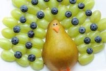 Fun Thanksgiving Treats / Check out these fun Thanksgiving-themed healthy snacks kids can make.  / by Produce for Kids