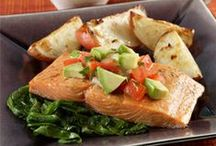 Seafood Recipes / Seafood dinners are tasty and easy to make. Whether it's baking salmon or grilling shrimp, we've got healthy ways to make seafood become your easiest and favorite dish.  / by Produce for Kids