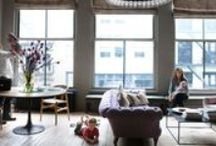 Living Rooms: Places to Relax / Danish, Denmark, mid century, Scandinavian, Sweden, Swedish, vintage, antique, loft, open concept, Finland, Finnish, Nordic, French, contemporary, modern, apartment, house, residence, home, rustic, casual, minimalist / by alice_sp