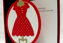 All Dressed Up-Stampin Up / Cards featuring All Dressed Up Stamp set and Framelits / by Sue Richardson