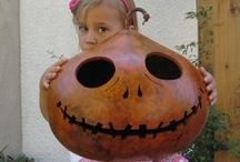 Halloween is coming! / Fun Halloween Crafts! Gourds, pumpkins, ghosts, witches and much more / by Welburn Gourd Farm