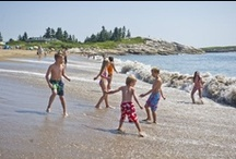 State Parks / With over 30 state parks and Acadia National Park, there is no shortage of perfect Maine spots for a family picnic, to roam around, or get away and take a breath of fresh air.  / by Visit Maine