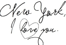 J'Adore New York / by Isabelle Lafleche