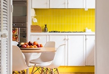 Modern Hue / Modern hues are all around us, our sweepstakes winners happen to love yellow, blue and white. These are some of the awesome pins from our sweepstakes winners! *This contest is now over. / by Euro Style Lighting