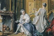 Blogging Fashion & Boucher / Boucher was the French Court's painter and the favorite painter of his illustrious patroness, Madame de Pompadour. Here you'll find Spanish bloggers fashion style.  A style worthy of a King's court! / by Museo Thyssen-Bornemisza