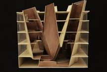 Architecture - Modeling / A collection of architectural models and maquettes / by Tom Parker
