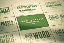 Design: Business Cards / by Jennifer Griffin