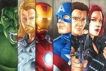 Super Heroes & Villains  / by Bryan Boldman