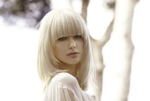 hair: heavy fringe / by Nadine Armiger
