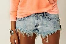 Denim Shorts / by Brittany Courtney
