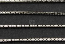 Sterling Silver (Ready to Wear) Chains / by Beadspoint, Inc.