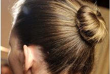 hair: buns/ballet/dance-class / Put it in a bun! / by Nadine Armiger