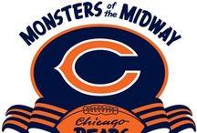 DA BEARS / Chicago Bears Football  / by Megan Ellison