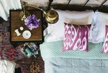 TEXTILES / Rugs. Throws. Pillows. Bed & Bath Linens / by Melody Lund