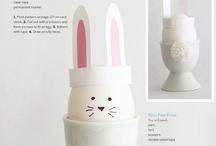 Pasqua: tempo di uova e coniglietti! It's Easter time / by Giada Francia