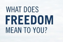 Freedom Day / In honor of Freedom Day on April 27, we asked our Facebook and Twitter fans what freedom means to them. Their responses – like everything else our fans do – were pretty inspiring. Happy Freedom Day! / by South African Airways