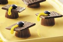 Graduation Party Recipes / Get graduation recipes from Taste of Home! You'll find graduation cakes, punch recipes, graduation desserts, party appetizers, graduation party ideas and more! / by Taste of Home
