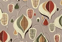 Pleasure of Pattern: Mid-Mod  / Mid-Century Modern Designs  from the originators...and those under their influence / by Frani Marek Janci