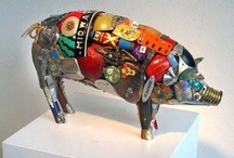Art - Assemblages  / ALL IMAGES ARE SUBJECT TO COPYRIGHT LIMITATIONS BY THE ORIGINAL OWNERS. Click on the links for more information.  / by Judy McKay
