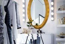 B fabulous / Powder room, Dress Room, Vanity, Closet / by Narth