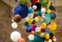 yarn bombing inspiration / inspirational shapes, colors, places and materials for yarn bombing... / by Jenifer Sult
